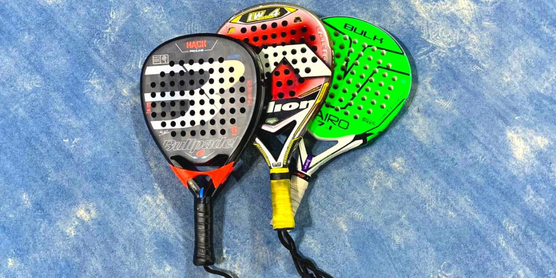 Comparatif de raquettes de padel